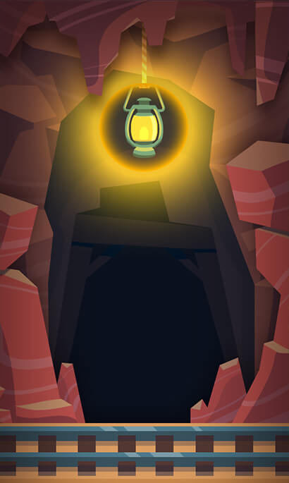 Crazy Caves background