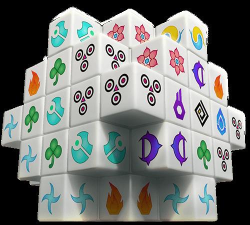Mahjong 3D figure