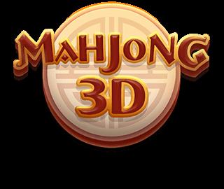 Mahjong 3D logo