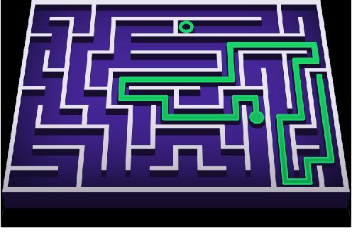 Maze figure