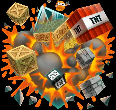TNT Bomb figure