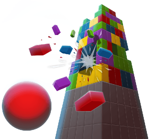 Tower Crash 3D figure