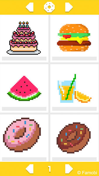 Play Color Pixel Art Classic Famobi Html5 Game Catalogue