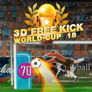 Play 3d Free Kick World Cup 18 Famobi Html5 Game Catalogue