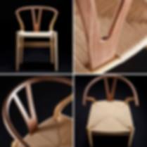 Exclusive Wishbone Chair in Oak & Walnut
