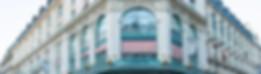 Devanture du magasin The Conran Shop, rue du Bac, Paris 7e.