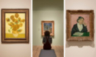 Inside the exhibition | Images courtesy of Tate as part of its Van Gogh and Britain exhibition