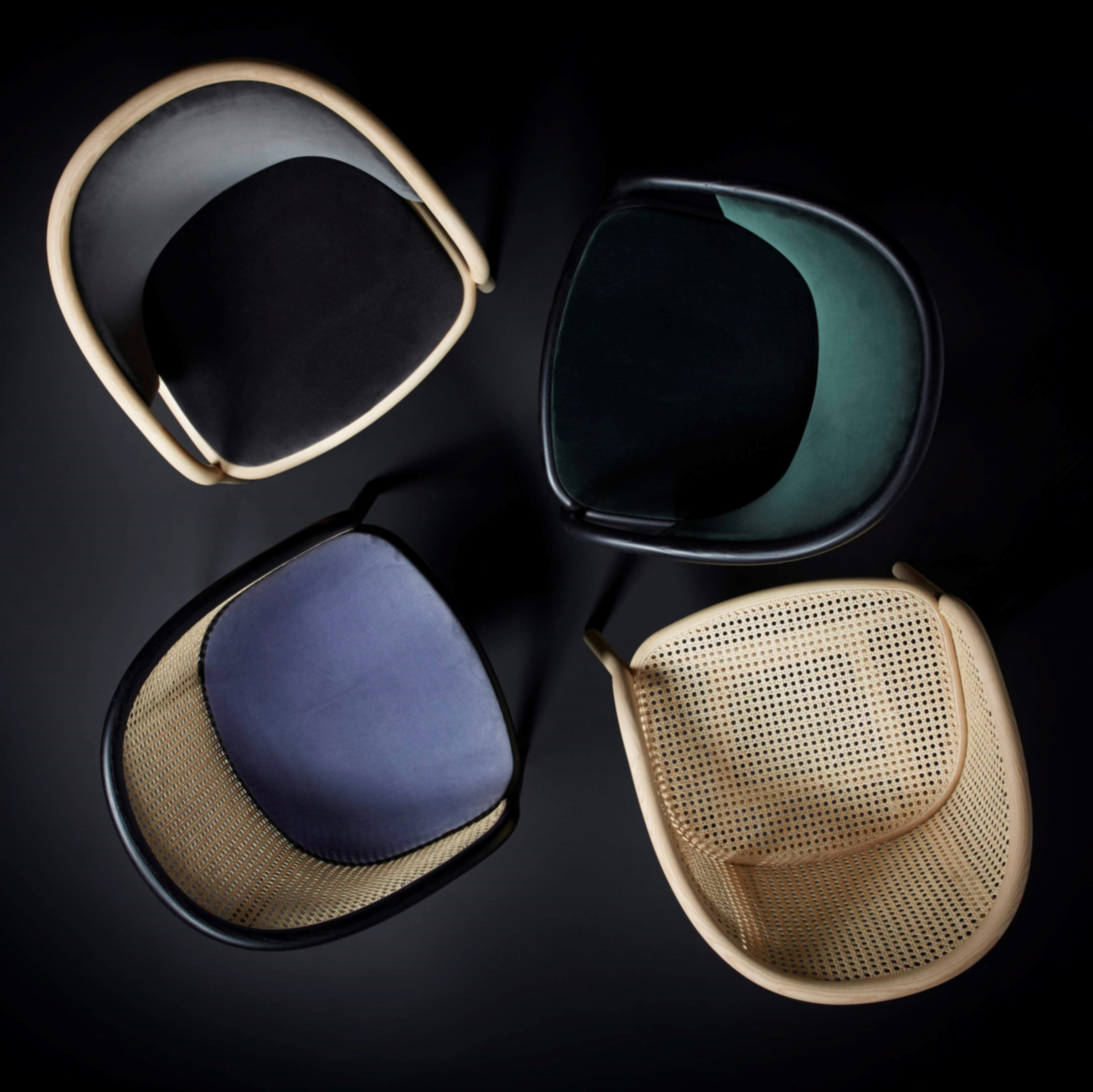 Exclusive Latis Chair in various finishes