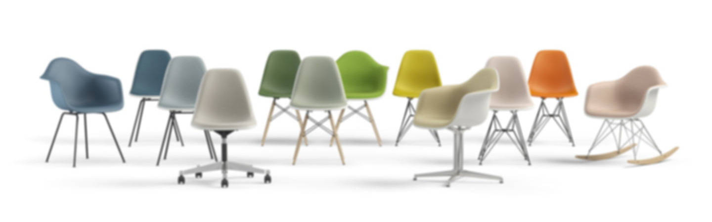 A look into the new colours | Image courtesy of Vitra