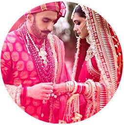 Robe de mariée hindoue