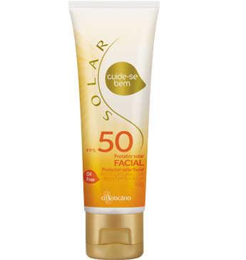 Cuide-se Bem Solar Protetor Facial Fps50 50g