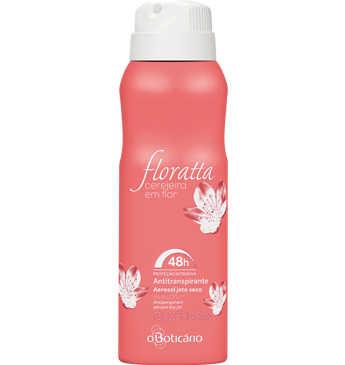 Floratta Cerejeira Em Flor Desodorizante Aerosol, 75g