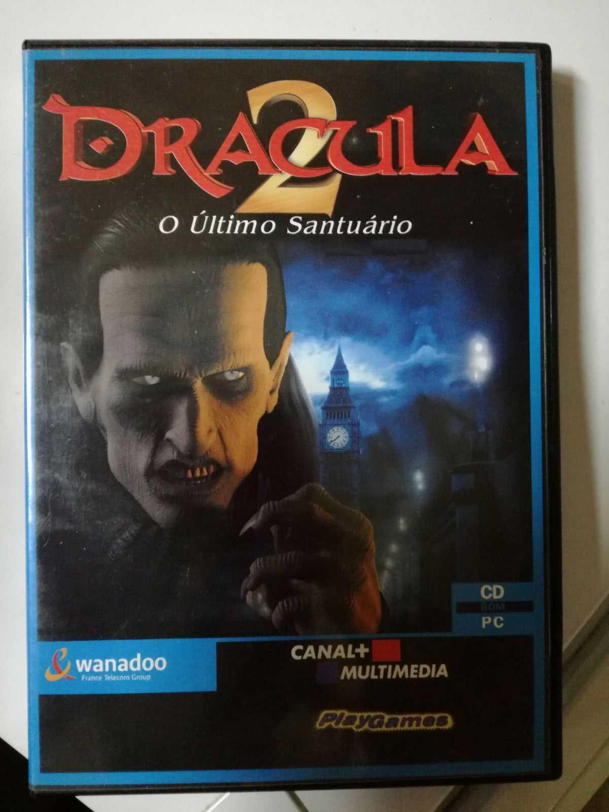 Jogo de PC - Drácula 2 - O último santuário