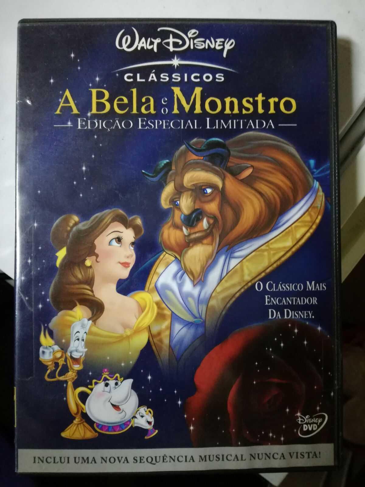 DVD - A Bela e o Monstro - Edição Especial Limitada