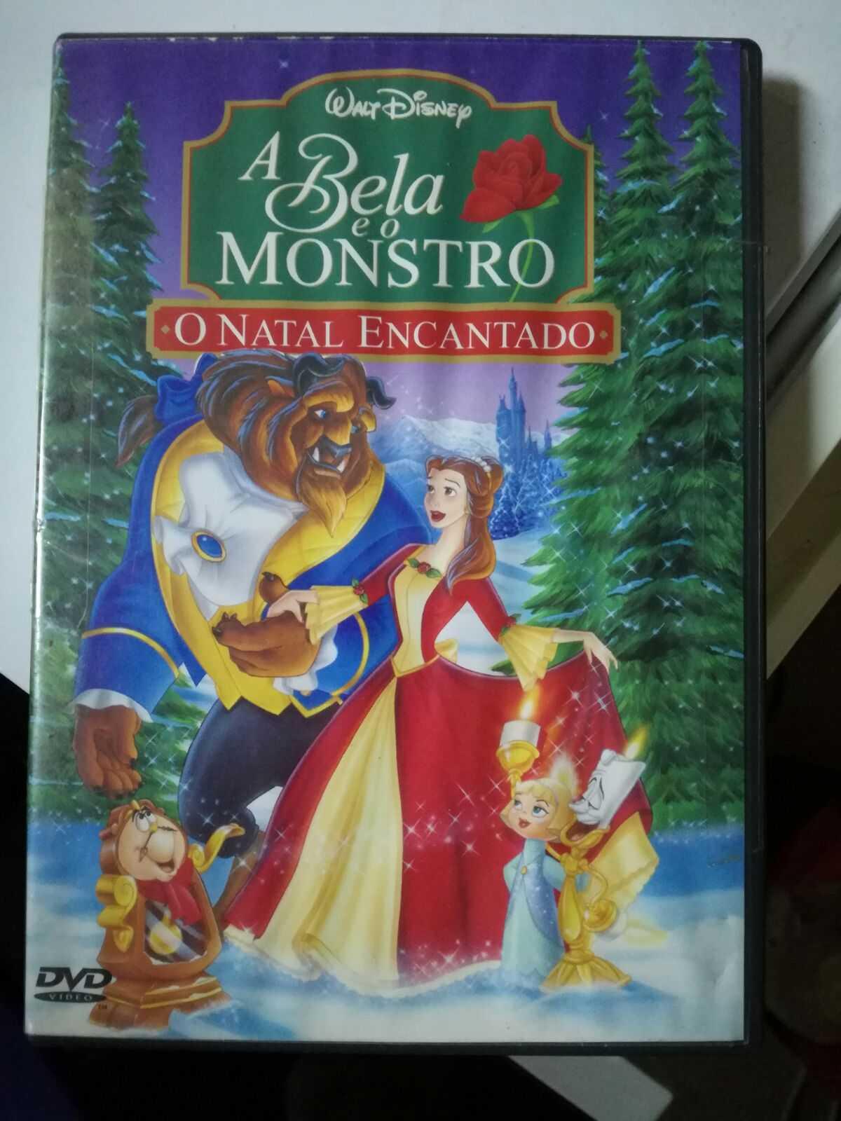 DVD - A Bela e o Monstro - O Natal Encantado
