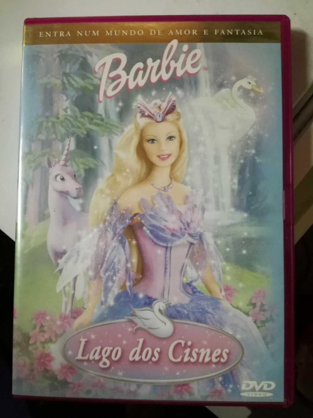DVD - Barbie Lago dos Cisnes