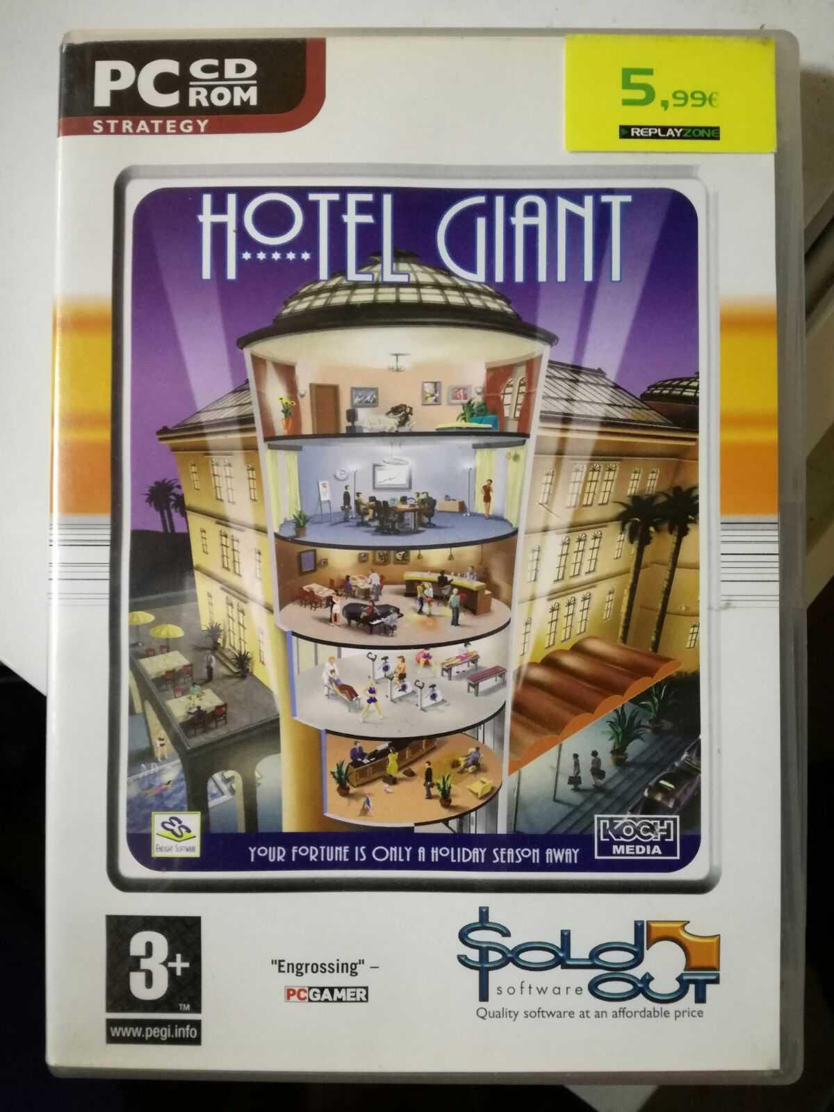 Jogo de PC - Hotel Giant