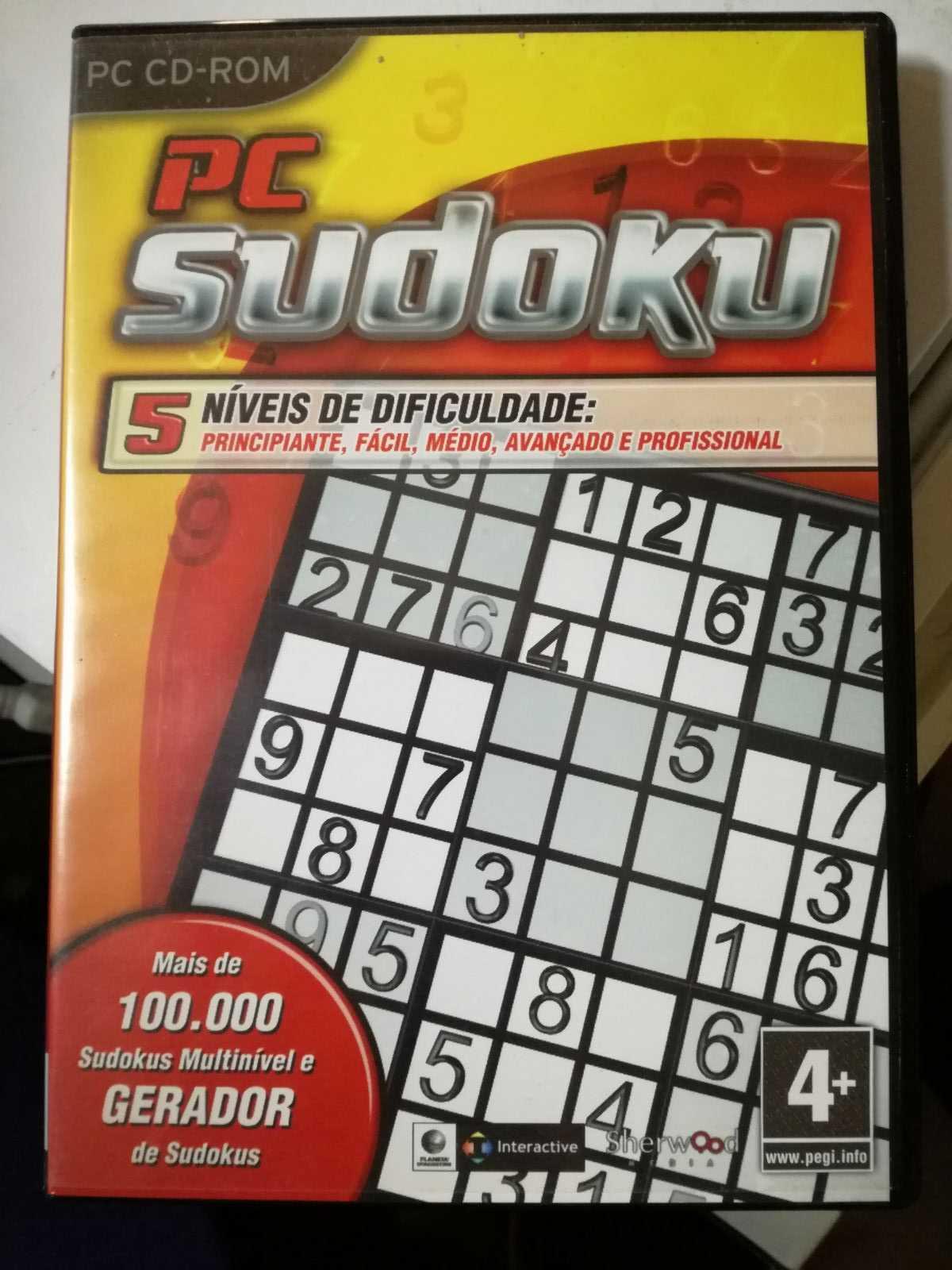 Jogo de PC - Sudoku