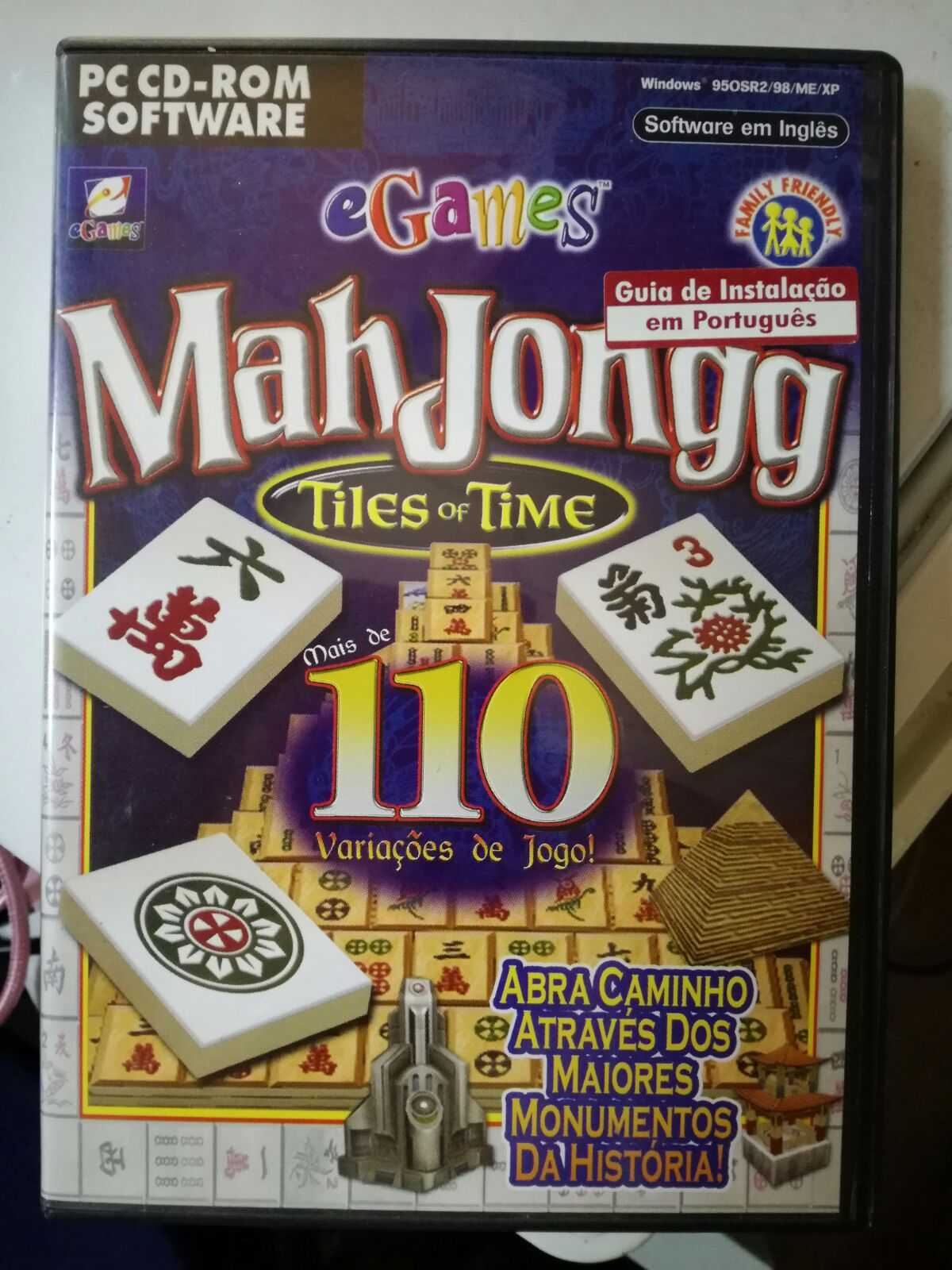 Jogo de PC - MahJongg