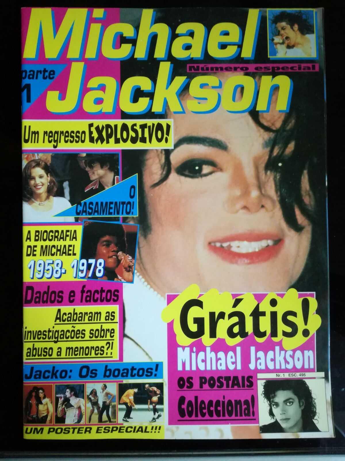 2 Revistas Exclusivas do Michael Jackson