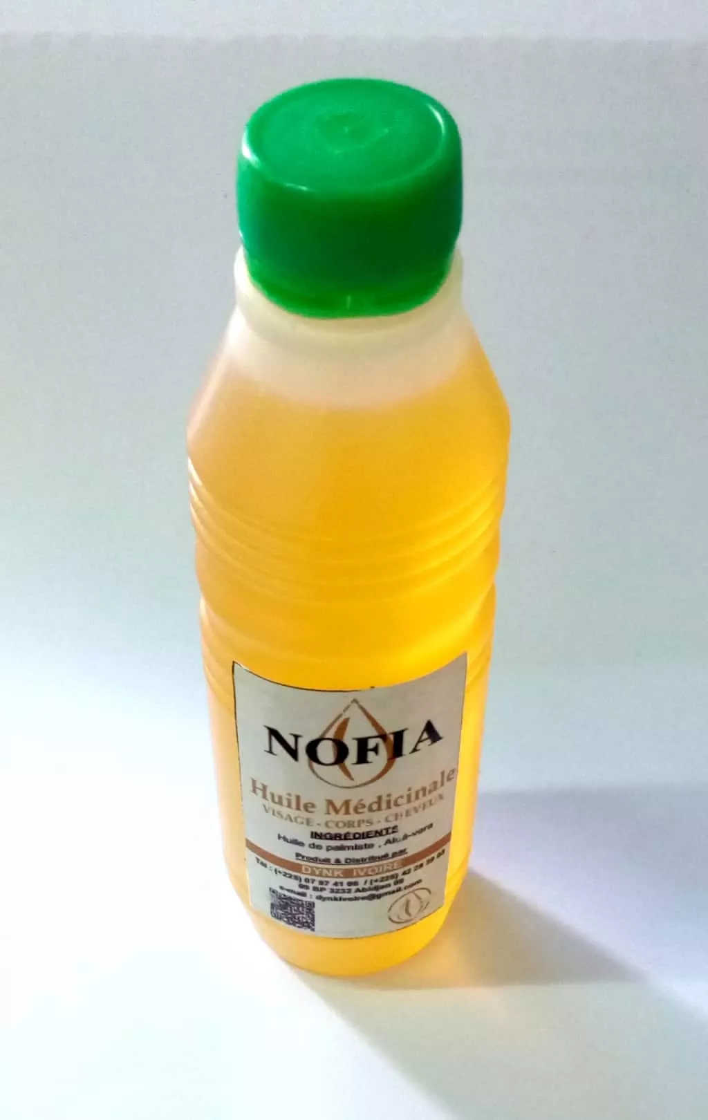 DYNK IVOIRE / NOFIA 250ml  ( 1000FCFA)
