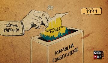Resultado de imagen para constitucion de 1991