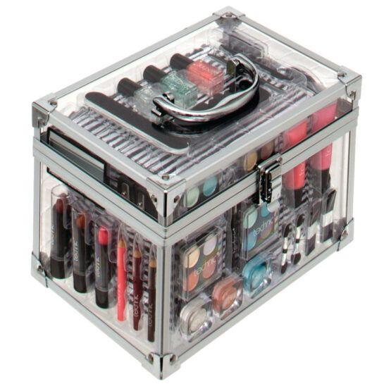 Technic Essential átlátszó sminkes táska sminkekkel