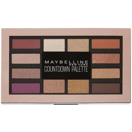 Maybelline Countdown szemhéjfesték paletta