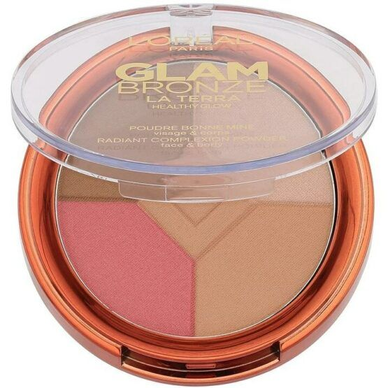 L'Oreal Glam Bronze Radiant Complexion bronzosító púder – 01 Light Laguna