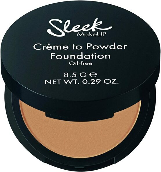 Sleek Créme to Powder kompakt alapozó krém SPF 15 – Number 08