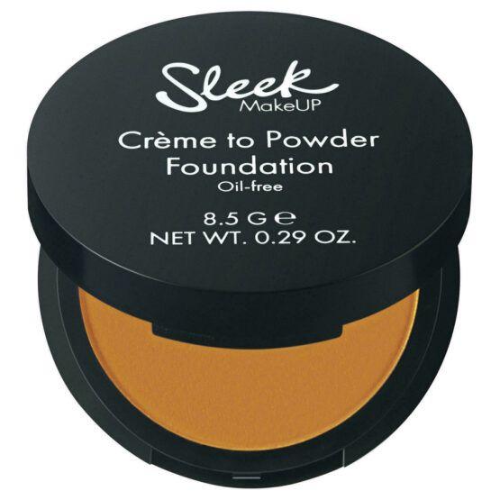Sleek Créme to Powder kompakt alapozó krém SPF 15 – Number 12