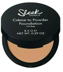 Sleek Créme to Powder kompakt alapozó krém SPF 15 – Number 04