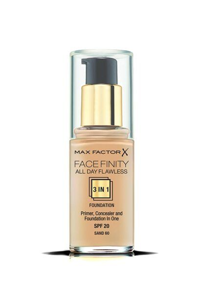 Max Factor Facefinity 3 in 1 alapozó – 60 Sand