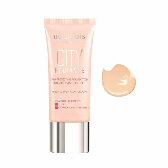 Bourjois City Radiance Skin Protecting alapozó – 01 Rosé Ivory
