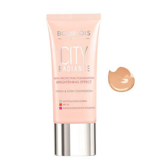 Bourjois City Radiance Skin Protecting alapozó – 03 Light Beige