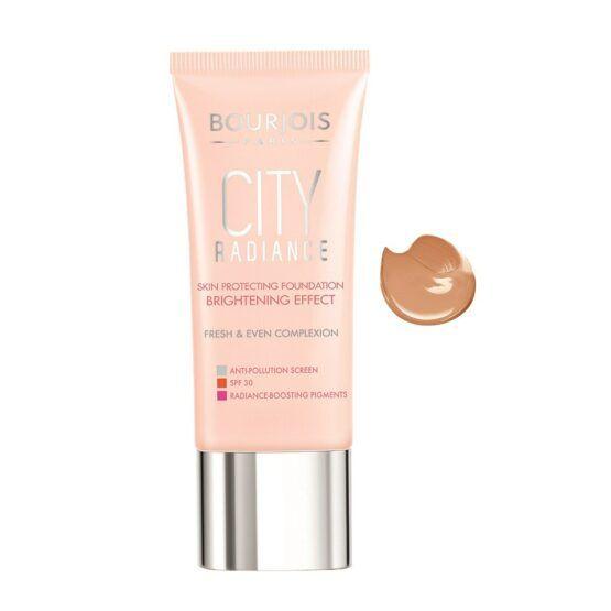 Bourjois City Radiance Skin Protecting alapozó – 06 Golden Sun