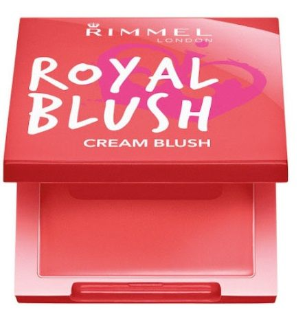 Rimmel Royal Blush Cream pirosító – 003 Coral Queen