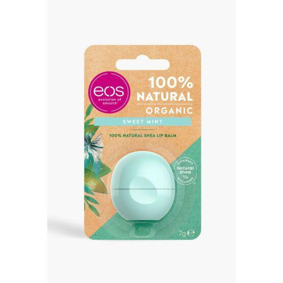 eos Sweet Mint – édes menta hidratáló ajakbalzsam