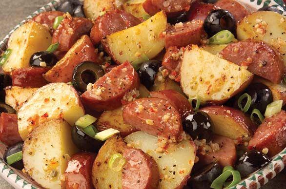 Potato Salad Sausage