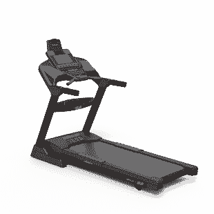SOLE F63 Treadmill Back Left 2020