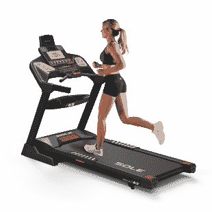 SOLE F65 Treadmill Back Left Model 2020