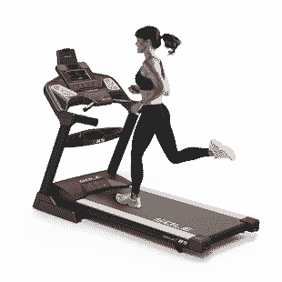 SOLE F85 Treadmill Back Left Model 2020