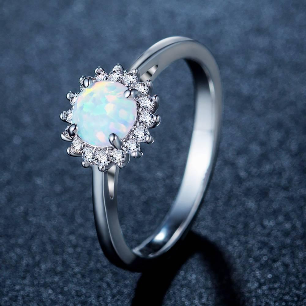 Sun Ring Opal