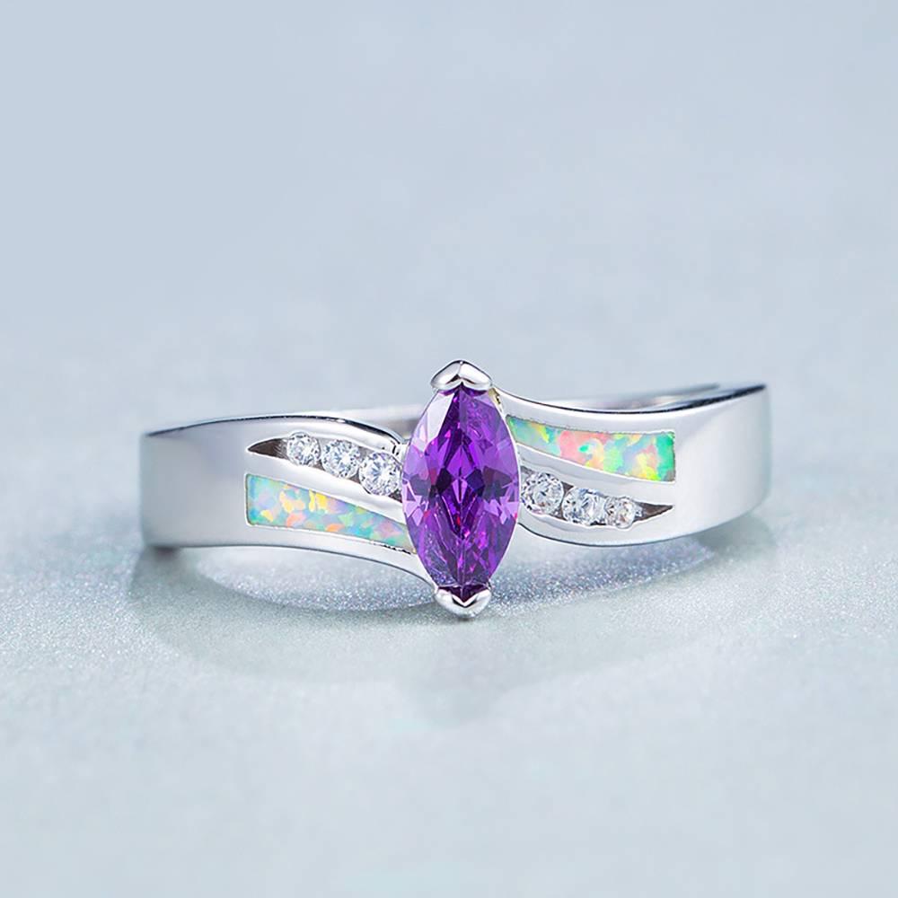 Buy Purple Ring Opal for $15.95 in Soufeel store