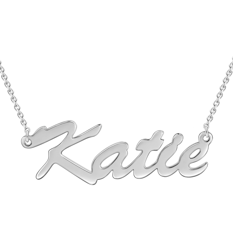 Special Offer Name Necklace Silver