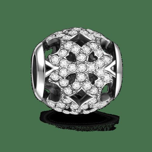 605d66e5f37ba Pave Four-Leaf Clover - Charms