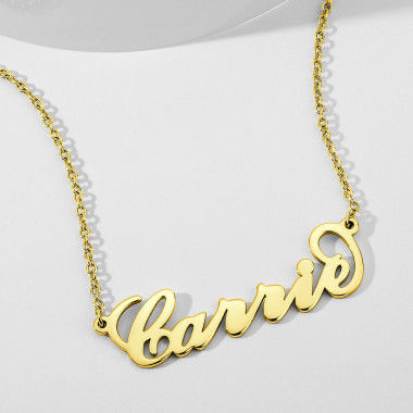 design your name necklace necklaces soufeel