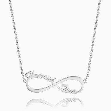 Infinity Name Necklace - Necklaces - Soufeel