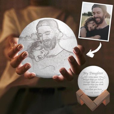 Personalized Photo Moom Lamp For Every Romantic Day Soufeel