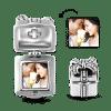 Buy Pave CZ Gift Box Photo Charm Silver, C060A